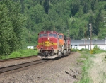 BNSF 160 and 2 others also traveling light heading northbound