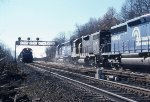 Big time action for Conrail