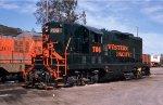 WP 706 at Sacramento Yard