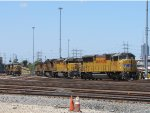Union Pacific locomotives at LATC
