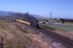UP 3985 steaming towards Ogden UT