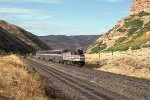 Eastbound Amtrak Pioneer