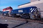 BC Rail 631 and 405