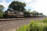 NS 9648 leading a westbound at MP1113