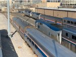Amtrak 4,147 & 164