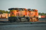 BNSF 4117 and BNSF 7620
