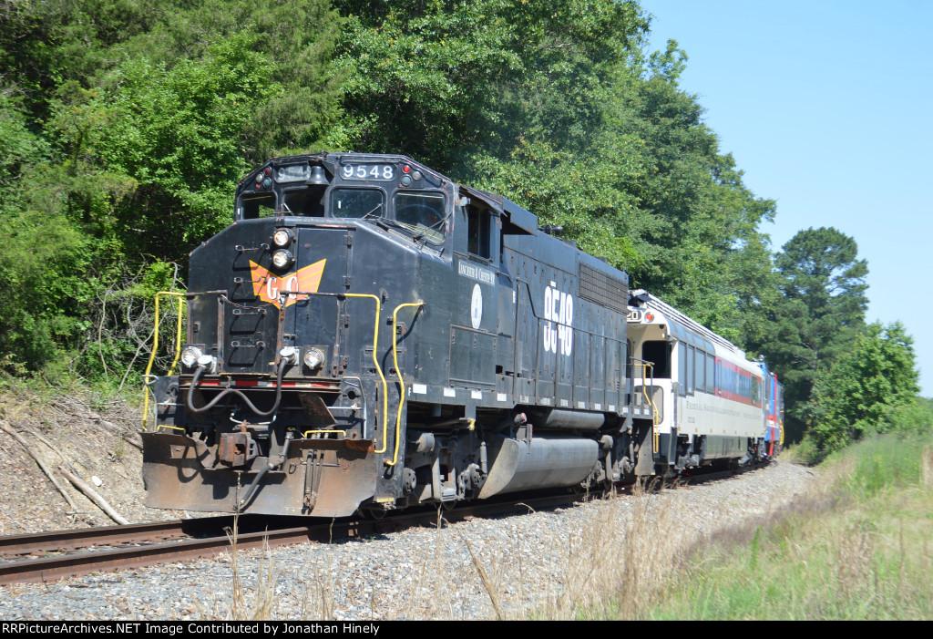FRA Inspection Train