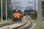 AF5 comes to Calumet Ave with both SD38's for power