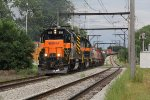 CSS 805 & 804 roll west with AF5