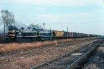 w/b BRC train led by C-424s #601 + #604