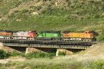 BNSF 4182  8084 and 4709
