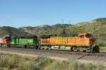BNSF 4182 and 8084