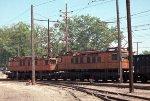 CSS&SB boxcab motors #701 + #706 leading e/b train