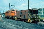 CSS&SB 2-D-D-2 #803 + caboose