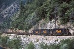 DRGW 5365 East in the Feather River Canyon