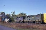 DH 7416 OEN meets DH 408 ENO at Boyles