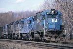 BM 314 with CR power on a Bow NH coal train