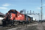 CP 1820 on #554 at D&H Mohawk Yard