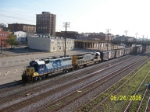 CSX 6132 leads southbound
