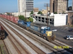 CSX train 180 heads towards BNSF's East Thomas yard