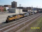 UP 3882 leads CSX train 521