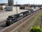 NS 9039 leads southbound NS train