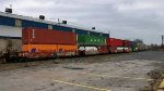 BNSF 239042 (5 Section Well Car Altogther)