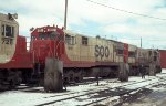 SOO Line U30Cs #801 + #806