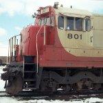Cab of SOO Line U30C #801