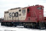 SOO Line GP9 #557