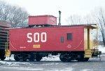 SOO Line caboose #99100