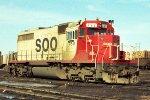 SOO Line SD40 #753