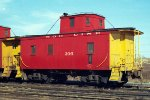 SOO Line wood caboose #206