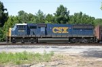 CSX 8740 poses for a roster shot