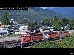 Repainted Canadian Pacific SD40-2 #5790 Passes Revelstoke