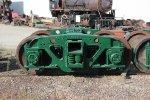 Refurbished Trucks for C&NW #6363