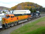 BNSF 4061 EB @ Summer Hill