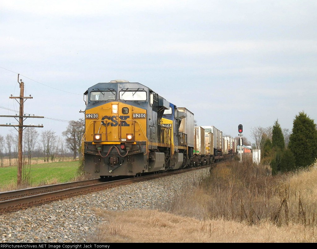 NS 101 which is a CSX reroute