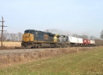 NS 101 - A CSX reroute - with six trailers!