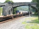 NS 22W meets the Pennsylvanian under the 1910 bridge