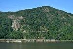 Auto Train Cuts Through Hudson Highland Mountains