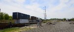Double Stack car with SEACO and UMAX Containers