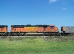 BNSF 8978 Helps Pull Empties West