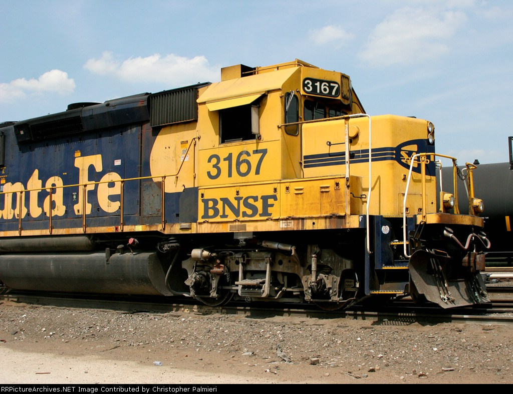 BNSF 3167