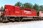 CP SD40-2 #5483 - Canadian Pacific