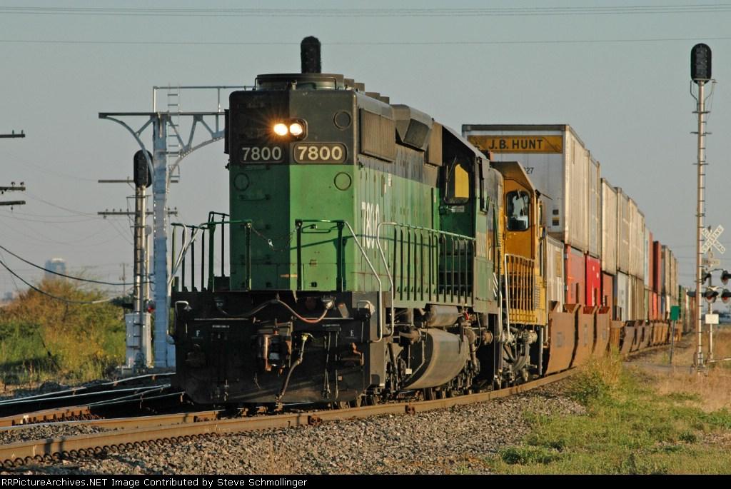 BNSF 7800 North