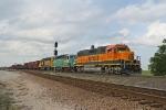 BNSF 2099 South at the south end of Lake Wanda siding