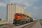 BNSF 2306 at Attebury Grain Elevator