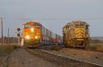 BNSF Z trains arrives