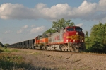 BNSF 720 South on the Madill Sub